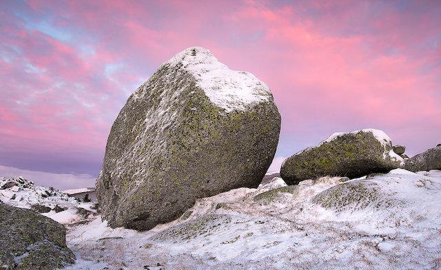 bloc de granit de Margeride