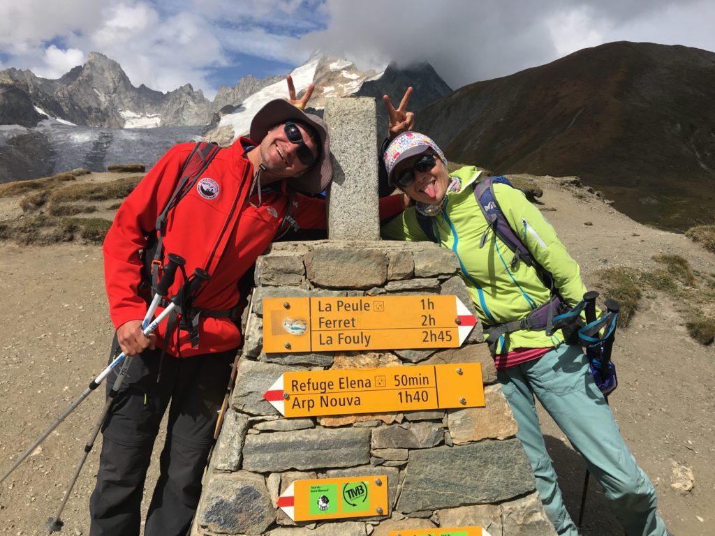 Guides au Col Ferret
