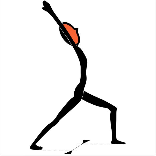posture du guerrier
