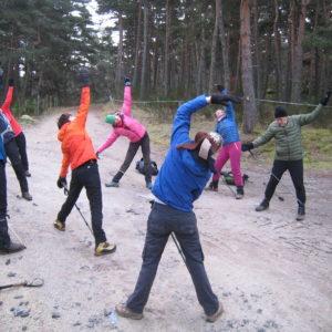 yoga et randonnée en Lozère