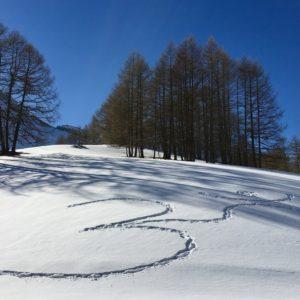 yoga des neiges
